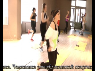 Маргарита Суворова - тренер групповых занятий фитнес-клуба