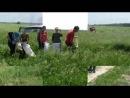 Косим трын траву