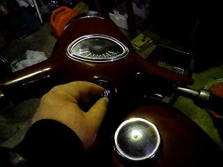 Ява 250 с генератором от 150сс скутера