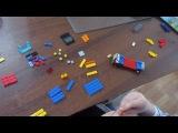 Как сделать из лего машину очень крутую первый выпуск LEGO