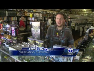 'Batman vs. Superman' sets being built in NM
