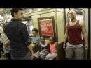 """Мюзикл """"Король лев"""" в нью-йоркском метро"""