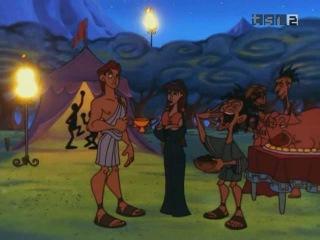 Геркулес ( мультсериал ) 1998 - 1 сезон 16 серия  - Вакханалия у Геркулеса