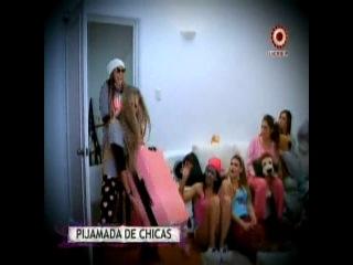Alejandra Baigorria aconsejó a Korina Rivadeneira en la pijamada que organizó