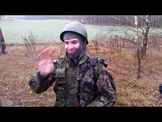 Где-то на учениях с поляками. Как разозлить снайпера?