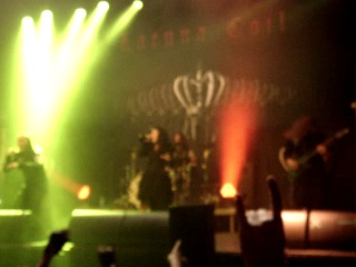 Lacuna Coil - Swamped (Live in Ekaterinburg, 09.07.2014)
