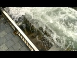 Ветерок и волны на пирсе Владивостока (11/08/2014)