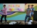 """Добропольская школа №6 """"День учителя"""", ученики 9 класса зажгли"""