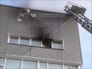 В офисно-складском здании на юго-востоке Москвы произошел пожар (18.09.14.)