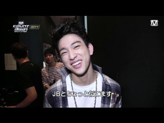[Видео] 140718 GOT7 @ M!Countdown Backstage