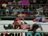 WWF SmackDown! 19.10.2000 - Мировой Рестлинг на канале СТС - Игрок VS Рок VS Крис Бенуа VS Курт Энгл