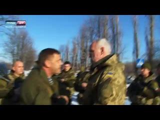 Диалог Александра Захарченко с офицером ВСУ