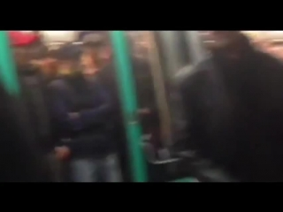 Chelsea To Ban Fans Filmed Pushing Black Passenger Off Paris Metro Train - Chanting 'We're Racist'...
