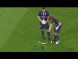 David Luiz doesn't follow the rules - PSG vs Chelsea 1-1 - 2015...