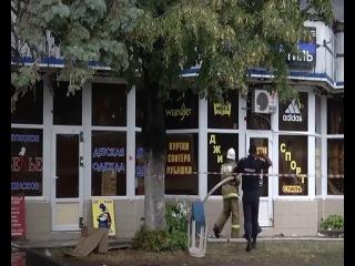 Отчаянный пожарник в Черкесске