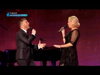Gary Barlow and Agnetha Fältskog 'I Should've Followed You Home' Live