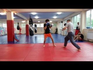 Ашимов Арман на тренировке