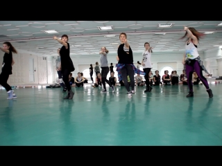Rihanna - Diamonds jazz-funk INFLAME choreography Kira Morozova