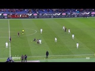 Кyбок Итaлuu 2014-15 / Coppa Italia / 1/8 фuнала / Poма - Эмполu / 1 тайм [720p HD]