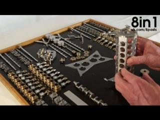 Самый маленький в мире рабочий двигатель в-32 / w32 engine the world's smallest