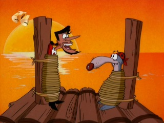 Бешеный Джек Пират (Mad Jack the Pirate) - Проклятые сокровища миссис Гранъен Волшебная лампа (12 Серия)