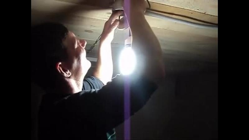Энергосберегайка или светодиод? Определяем на практике!