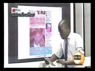 Revue de presse du jeudi 11 septembre 2014 avec Mamadou Mouhamed Ndiaye