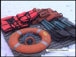 Брянские спасатели провели тренировку по отработке действий во время паводка