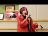RADIO 150123 Hyeji singing Beyonce's 'Broken-Hearted Girl' on KBS 'Kiss The Radio'