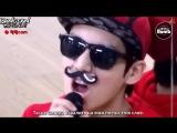 [RUS SUB] [BANGTAN BOMB] A guy like me lip sync by JungKook (V cam)