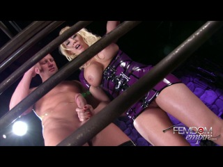 FemdomEmpire.com: Kagney Linn Karter - Caged And Cuckolded (2014) HD
