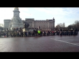 Changing of the Guard at Buckingham Palace 31 December 2014 (2)