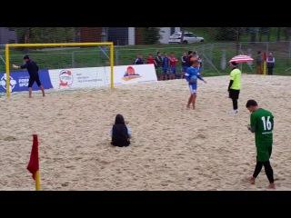 Финал Кубка России по пляжному футболу среди любителей 2014.