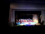 С подругой на выступлении украинского народного хора им. Веревки