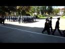 30 августа 2014 Марш кадетов и воспитанников на праздниной линейке посвященной началу учебного года