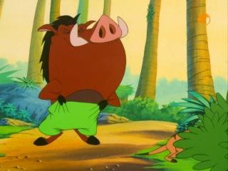 Тимон и Пумба (Timon and Pumbaa) - Мисс совершенство + Университет Хакуны Мататы (5 Сезон. 4 Серия)