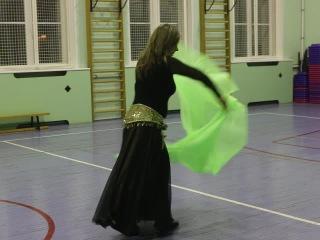 Восточный танец Ольги Морозовой (ТФСД, 11 семестр ИСПИП, 24 декабря 2014)