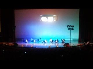 Джаз-фанк хореограф Анастасия Краснова отчётный концерт студия Diva 21.12.14.
