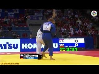 2014 World Championships Chelyabinsk (-63kg Repechage) TRSTENJAK Tina (SLO) - TRAJDOS Martyna (GER)