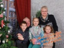 Новогодний семейный портрет!