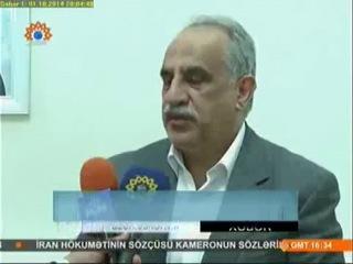 Azərbaycan Gömrük Komitəsi və İqtisadiyyat və Sənaye Naziri ilə İran rəsmi ilə görüşü