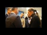Москва,30.10.2014.После пресс-конференции: Игорь Стрелков, Маргарита Зайдлер, Игорь Друзь и