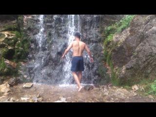 Дрищ и водопад