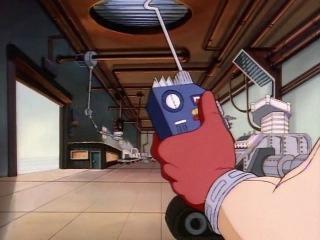 Черепашки Мутанты Ниндзя (1987). Сезон 3, серия 23. Сражение с дубоголовым (Casey Jones - Outlaw Hero)