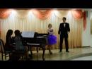 "В.Моцарт дуэт Церлины и Дон-Жуана из оперы ""Дон-Жуан"" исполняют Анжелика Божкова и Константин Козерук"