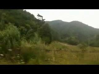 Болгария, природа за окном и за бортом
