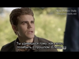 Дневники вампира 6 сезон 4 серия (вебклип #1) [rus sub]