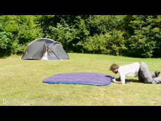Как надуть надувной матрас без насоса