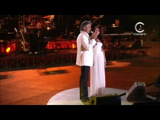 Andrea Bocelli Sarah Brightman - Time To Say Goodbye (Vivere Live In Tuscany)