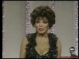Arnold Schwarzenegger and Joan Collins present Sci-Tech Awards in 1984